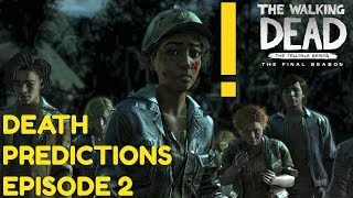 "The Walking Dead:Season 4 Episode 2 ""Suffer The Children"" - DEATH PREDICTIONS"