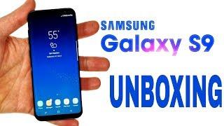 Samsung Galaxy S9 Plus Unboxing - samsung galaxy s9 plus .