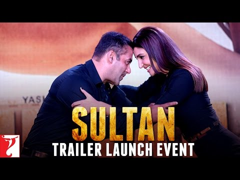 Sultan Trailer Launch Event | Salman Khan | Anushka Sharma