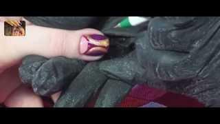 Видео уроки дизайн ногтей гель лаками
