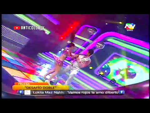 COMBATE Israel y La China Desafio Doble Musica Disco 29/11/13