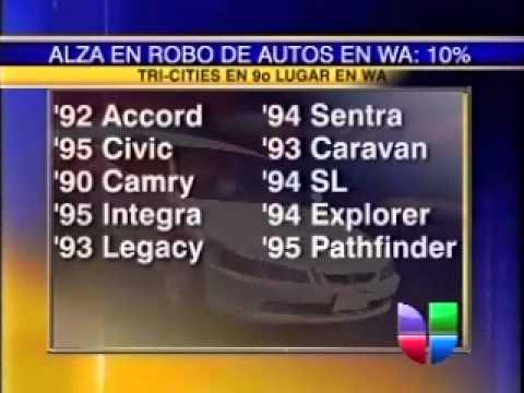 Los Vehículos Más Cotizados para Ladrones de Autos