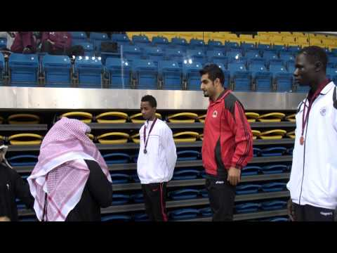 تتويج وثب ثلاثي -  كأس اتحاد العاب القوى للصالات - رجال 6-8- يناير 2014