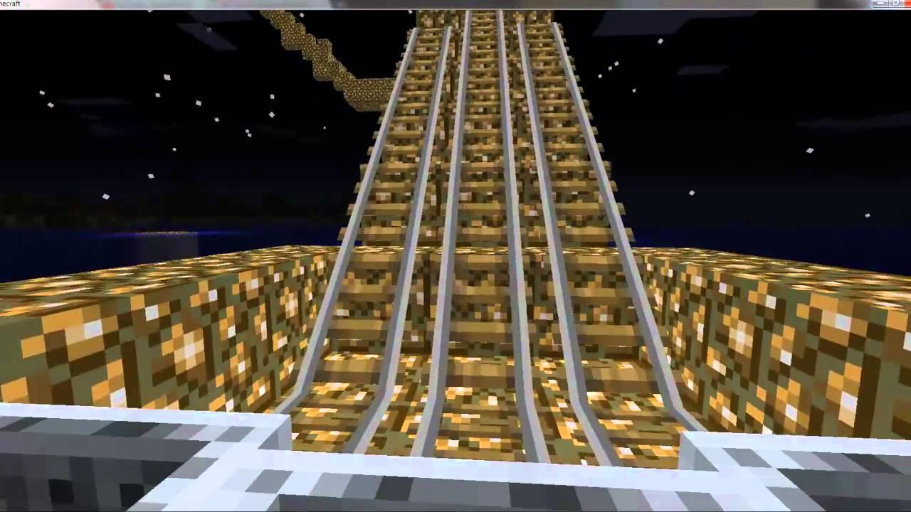 Minecart Tracks my Minecraft Minecart Track