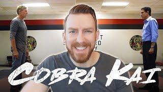 Official Cobra Kai Trailer Reaction!