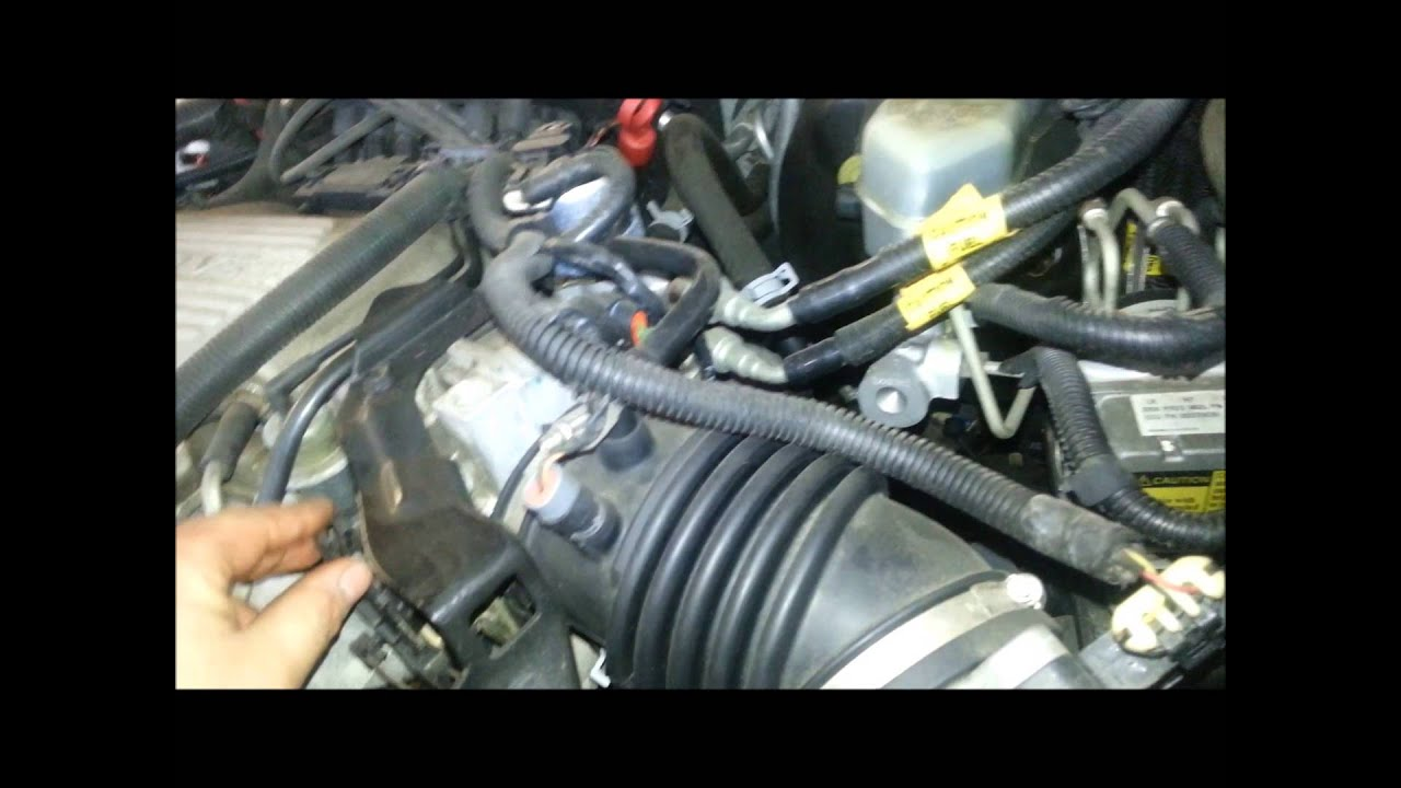 pontiac aztek oil filter location