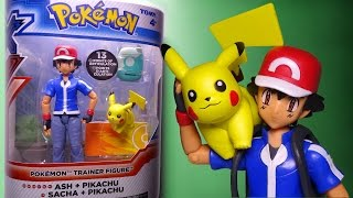 Opening: ASH + PIKACHU Pokemon X and Y Trainer Figure