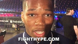 """RAYMOND FORD INSISTS SHAKUR STEVENSON BEATS ALL CHAMPS AT 126 AFTER """"HIGH-CALIBER"""" SPARRING WITH HIM"""