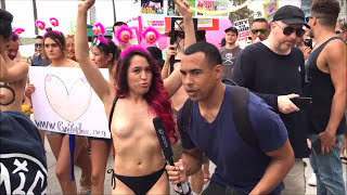 Go Topless Day 2017  |  Free The Nipple!