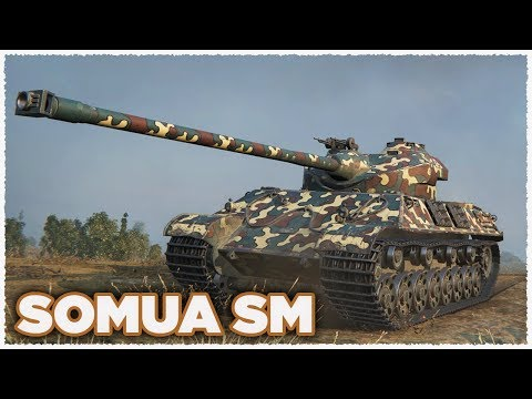 Somua SM • First Battle and First Ace Tanker • WoT Gameplay