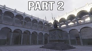 Call of Duty 2 Spanish Civil War Gameplay Part 2 - Siege of the Alcazar