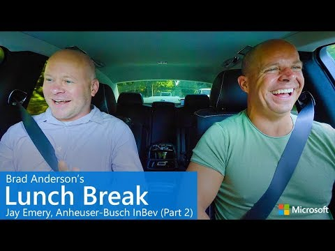 Brad Anderson's Lunch Break / s8 e8 / Jay Emery, Anheuser-Busch InBev (Part 2)