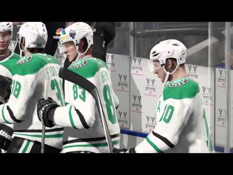 Dallas Stars vs Toronto Maple  Leafs NHL15