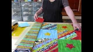 How to prepare Borders for a Quilt as you Go quilt - Quilting Tips & Techniques 073
