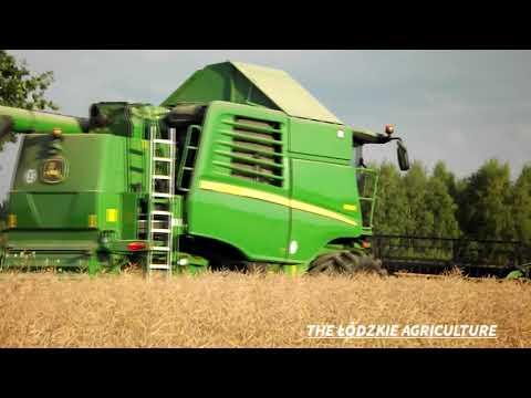 Żniwa Rzepaczane 2018|John Deere W540i W Akcji|The Łódzkie Agriculture©