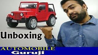 Mahindra THAR CRD 4x4 Mini Car Unboxing and Features|Automobile Guruji|