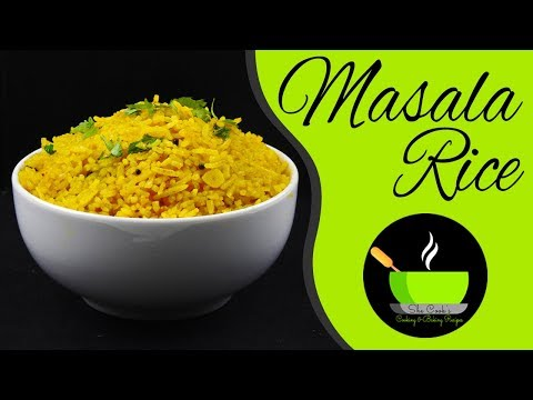 Easy Masala Rice Recipe | Spiced Rice Recipe | Instant Rice Recipe With Left Over Rice