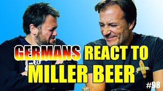 #98 | Germans react to Miller Beer | Beertest (English)