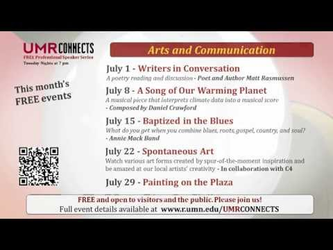 "University of Minnesota Rochester  ""UMR Connects - Peace Plaza - July 2014"""
