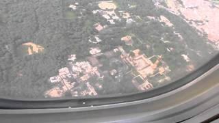 Qutub Minar view from airplane