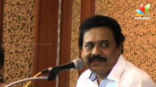 Dracula - Vinayan Funny Speech About Minister K Babu | Dracula 3D Malayalam Movie CD and DVD Release