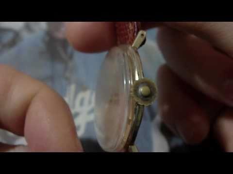 Rebuild Bulova wrist watch crown.
