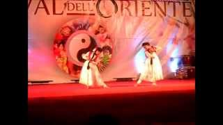 Bangla Semi-classical Dance by Madhobi&Korobi @Festival dell'Oriente Roma 2014