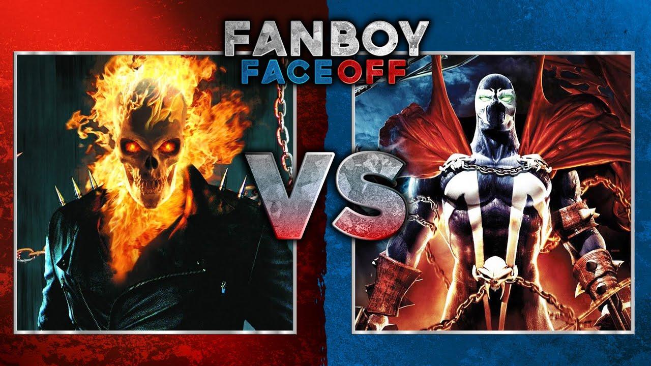 Ghost Rider vs Flash Ghost Rider vs Spawn Fanboy