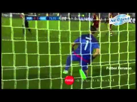 Gol de Pizarro Perú 1-0 Venezuela Copa América 2015
