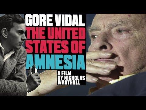 GORE VIDAL: THE UNITED STATES OF AMNESIA with dir. Nicholas Wrathall