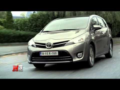 TOYOTA VERSO 2014 - TEST DRIVE