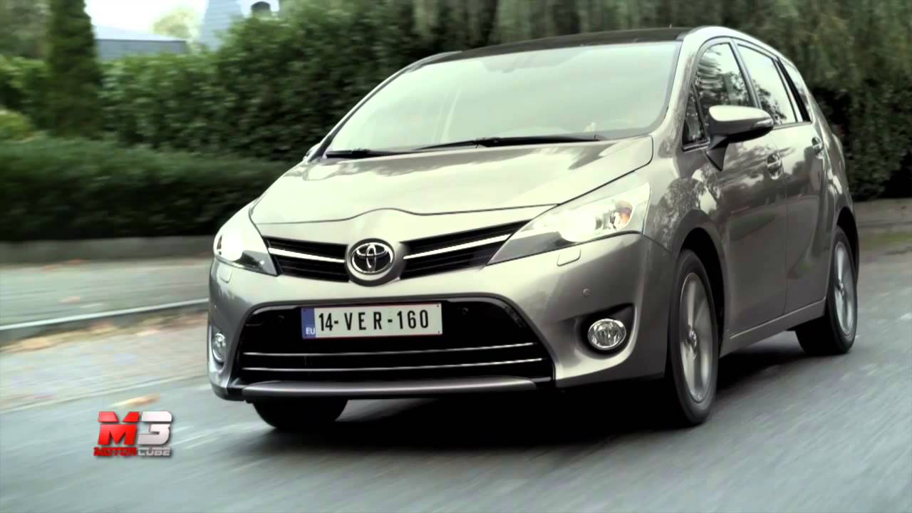 toyota verso 2014 test drive youtube. Black Bedroom Furniture Sets. Home Design Ideas