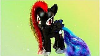 Nightmare Moon Rainbow Dash -My Little Pony Custom Tutorial MLP