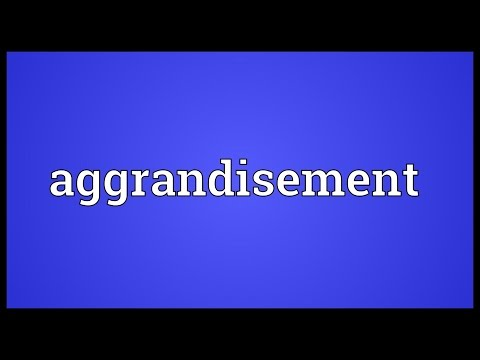 Header of aggrandisement