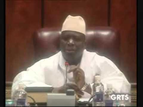 1/2 The Vicious Naked Emperor - Yahya Jammeh justify his oppression of Gambians.