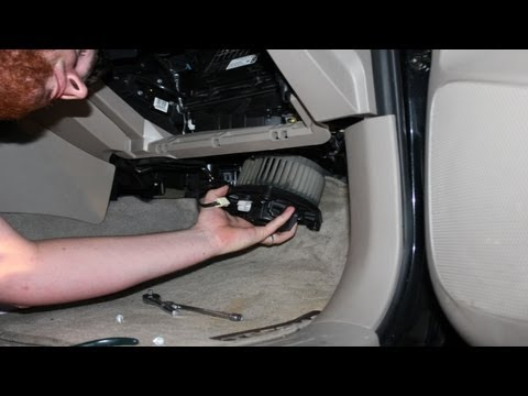 How To Install Replace Blower Motor W Fan Toyota Tacoma