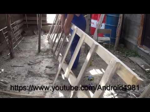 Как изготовить БОЛЬШУЮ лестницу