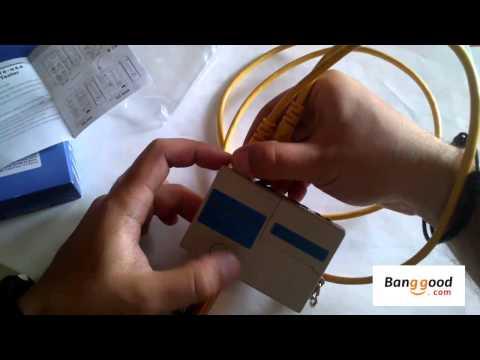 Tester cable RJ45 Y RJ11 /Ethernet 4 Port RJ45 RJ11 Mini Network LAN Tester /De banggood.com