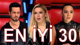 En İyi 30 Performans - O Ses Türkiye 2015 (Best of The Voice Turkey 2015)