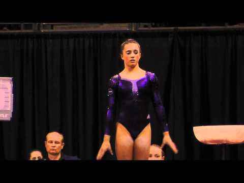 Lexie Priessman - Vault Finals - 2012 Kellogg&#039;s Pacific Rim Championships - 1st