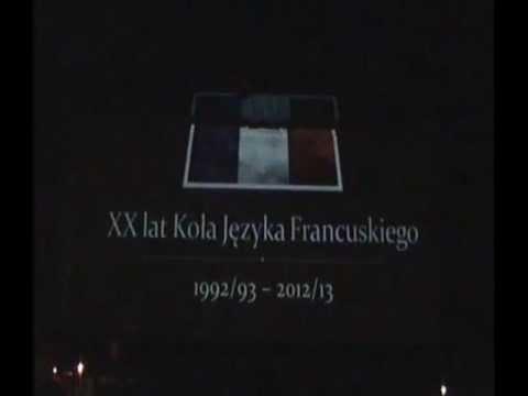 XX-lecie Koła Języka Francuskiego - Historia Sukcesu. EDUinspiracje 2013