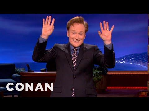 Monologue 04/19/12 - CONAN on TBS. Conan jokes about the Secret Service ...