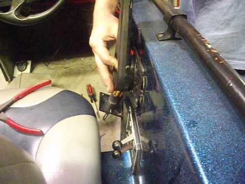 Omc Outboard Shift Cable Problems And Control Box Removal