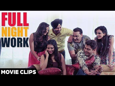 Full Night Work - Feroz Khan and Komya Virk | Jugaadi Dot Com | Best Comedy Punjabi Movies