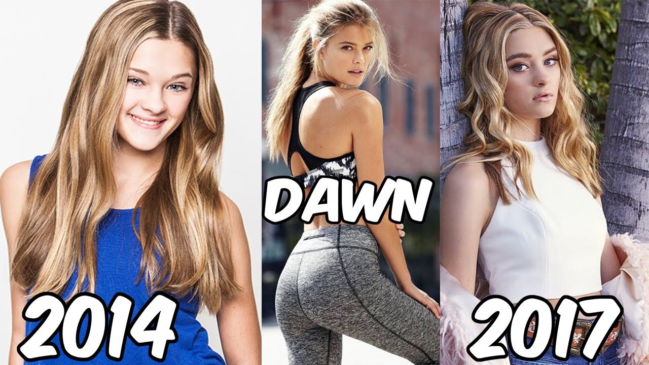 Nickelodeon Famous Girls Stars Before and After 2017