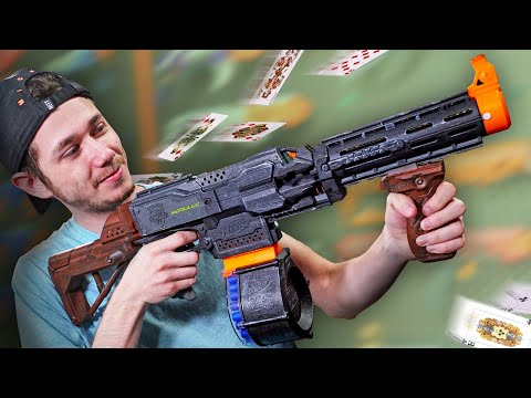 NERF Trouble in Mafia Town Challenge!