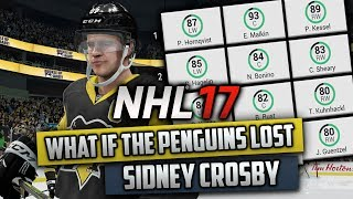 What If The Penguins Lost Sidney Crosby? (NHL 17 Challenge)