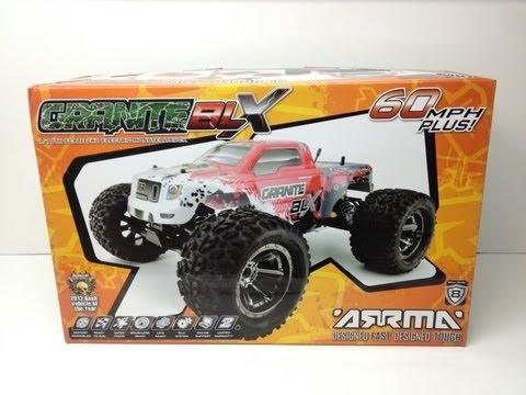 Arrma Granite BLX Monster Truck - First Look