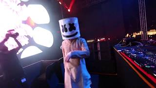 Marshmello goes Bollywood during Sunburn Festival in Mumbai, India