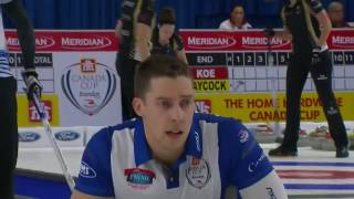 Reid Carruthers vs. Team Gushue (Nichols) - 2016 Home Hardware Canada Cup of Curling (Draw 3)